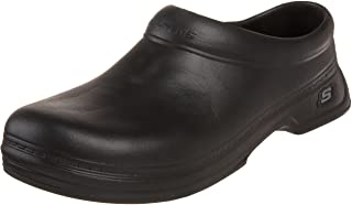 Skechers for Work Men's Balder Slip Resistant Work Clog