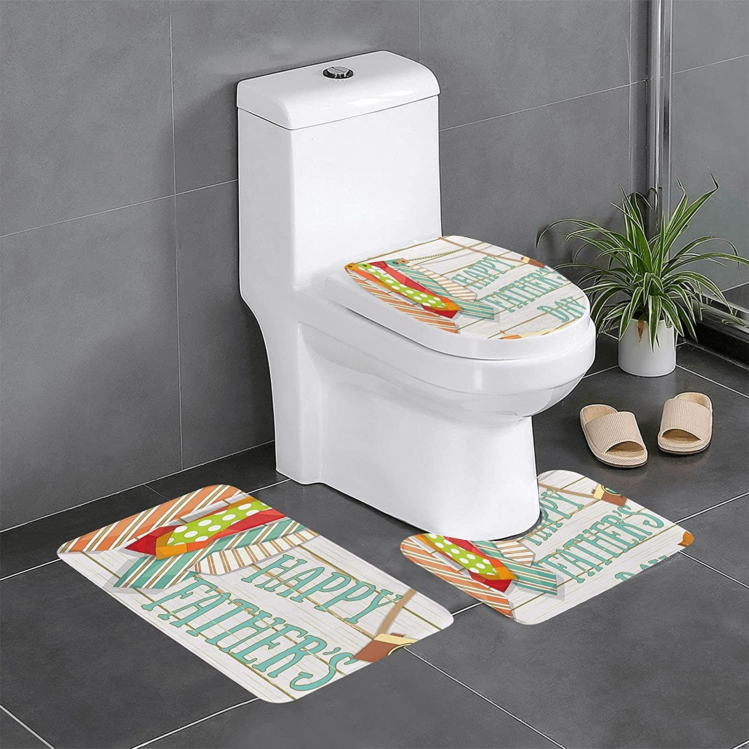 Bathroom Rugs Sets 3 Max 55% OFF Piece Outlet SALE Ties Shower Rod Fishing Camera Shoes