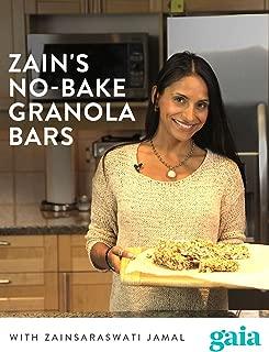 Zain's No-Bake Granola Bars