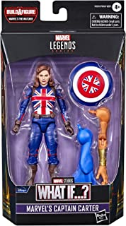 Marvel Legends Series 6-inch Scale Action Figure Toy Marvel's Captain Carter Includes Premium Design, 1 Accessory, and 2 B...