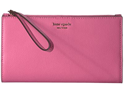 Kate Spade New York Sylvia Large Continental Wristlet (Hibiscus Tea) Clutch Handbags