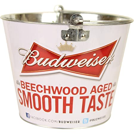Brand new Budweiser Ice Bucket ¦ Red Grab Some Buds Design