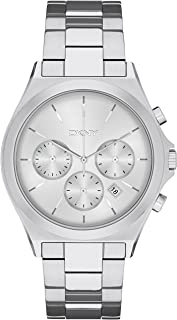 DKNY Womens Quartz Watch, Analog Display and Stainless Steel Strap NY2378