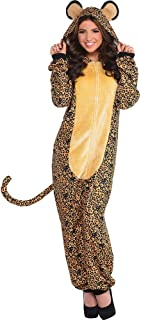 Leopard Zipster Suit - Adult Large/X-Large (Up to 6' 3
