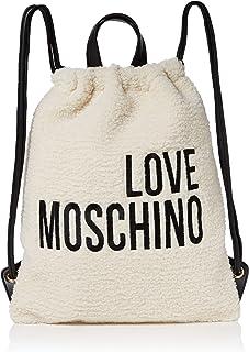 Love Moschino Borsa Eco Shearling E Pu, Zainetto Donna, 42x34x2 cm (W x H x L)
