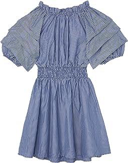 Tacked Smocked Waist Dress (Big Kids)