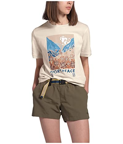 The North Face Berkeley Short Sleeve Tee (Raw Undyed) Women