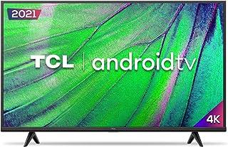 """Smart TV Android LED 50"""" 4K UHD TCL 50P615, 3 HDMI, 2 USB, Wi-Fi, Bluetooth e Controle Remoto com Comando por controle de ..."""