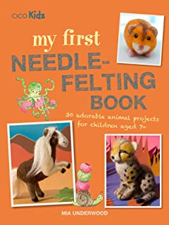 needle felting with kids