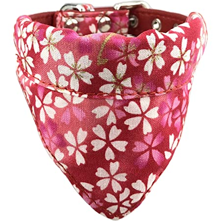 Easily attaches to any standard collar. Beautiful Timoncello Fabric Pet Dog Bandana