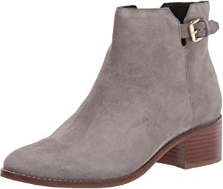 Cole Haan Women's Haidyn Bootie (45MM) Ankle Boot, STORMY GRAY SUEDE, 7.5