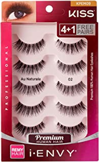 Kiss I Envy Au Naturale 02 Value Pack 4+1 Lashes