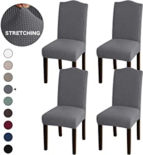 Best gray stretch chair covers Reviews