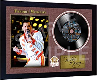 S&E DESING New Freddie Mercury Queen Bohemia Signed Framed Photo Print
