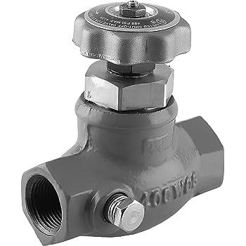 N410-12 Ductile Iron UL Listed 1 1//2 NPT Angle Valve Emerson Regulator Technologies Inc. 400 PSIG Max Pressure 1 1//2 NPT Angle Valve Emerson-Fisher LP-Gas Equipment