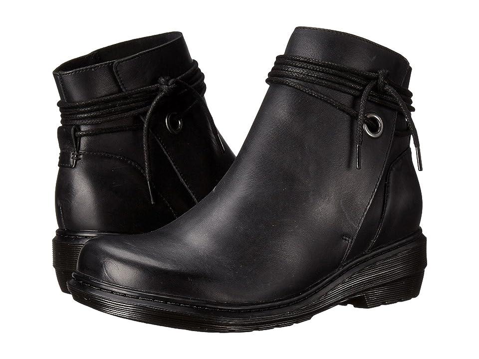 Dr. Martens Shelby Hi Tie Boot (Black Oily IIIusion) Women