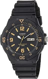 Casio Men's 'Classic' Quartz Resin Casual Watch, Color:Black (Model: MRW-200H-1B3VCF)