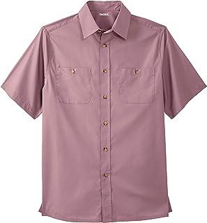 KingSize Men's Big & Tall Short Sleeve Solid Sport Shirt