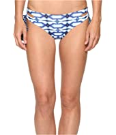 MICHAEL Michael Kors - Summer Breeze Lace-Up Euro Bikini Bottom