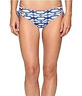 MICHAEL Michael Kors - Summer Breeze Lace-Up Euro Bikini Bottom