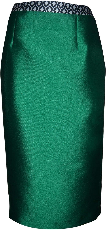 Allure Women's 1815S00 Green Viscose Skirt