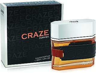 F Armaf Craze Eau De Parfum, 3.4 Fluid Ounce