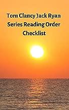 Tom Clancy Jack Ryan Series Reading Order Checklist