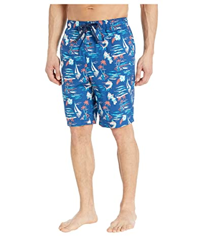 Tommy Bahama Printed Woven Jams (Marlin Sea) Men