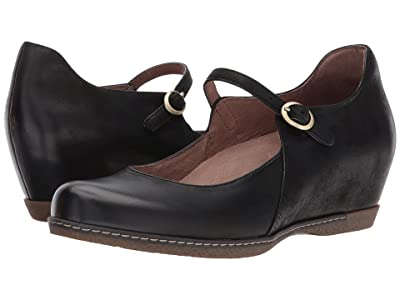 Dansko Loralie (Black Burnished Nubuck) Women