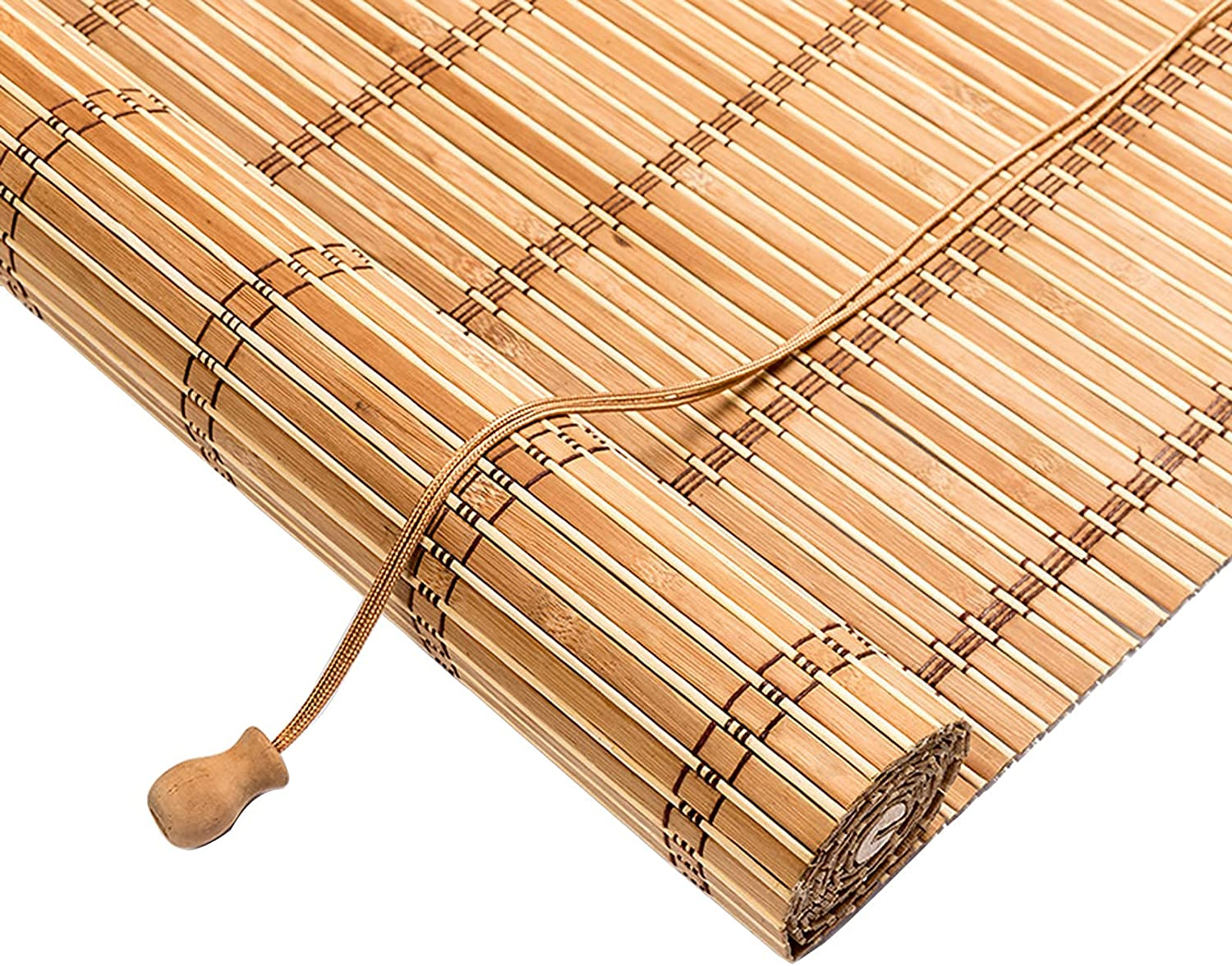 Home Bamboo Roll Up Window Blind Ranking TOP20 Shade Store W100xH200cm 39x79in Sun