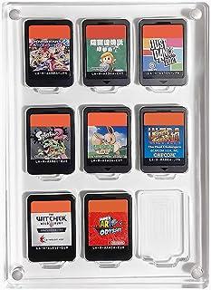 「Across Rainbow」Nintendo Switch ソフトケース  スイッチカードケース  ディスプレイケース  9枚収納 アクリル素材 日本国内会社取扱商品 AR109‐M