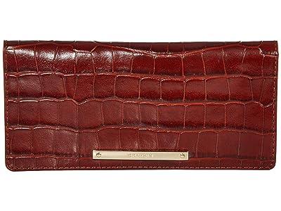 Brahmin Trance Ady Wallet (Cognac) Wallet Handbags