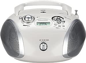 Lenco CD-011 Lecteur CD Portable Walkman Diskman avec /écouteurs et c/âble de Charge Micro USB Rose