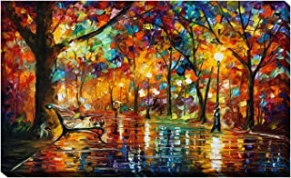 Picture Perfect International Giclee Stretched Wall Art by Leonid Afremov Colorful Night Artists-Canvas, 18