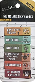 Sticky Notes for Sarcastic Musician