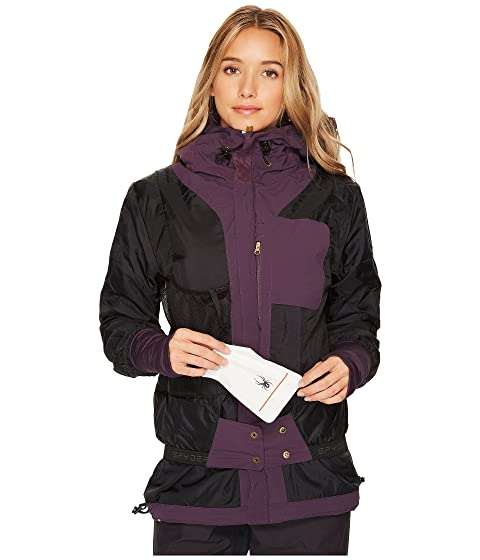 Spyder Syncere Jacket Nightshade Cheap Online Store Discount Supply Buy Cheap Big Sale Cheap Cost bnaHYdNy