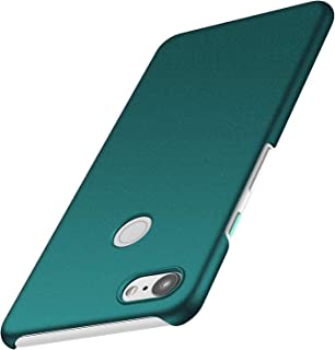Anccer Colorful Series Google Pixel 3 XL Case Ultra-Thin Fit Premium PC Material Slim Cover Google Pixel 3 XL (Not Google Pixel 3) - Gravel Green