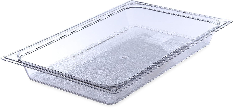 Carlisle 10200B07 StorPlus Full Size Food Pan, Polycarbonate, 2.5