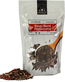Sponsored Ad - The Spice Lab 5 pepper Rainbow Peppercorn - Mixed Peppercorns with Pimenta (All Spice) – 1 Pound Resealable...