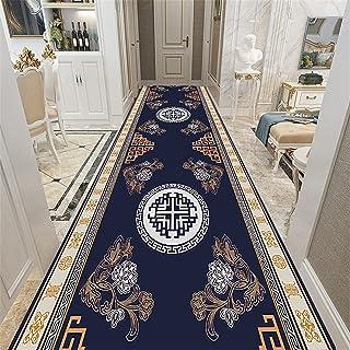 TONGQU Coureurs de Tapis Vintage, Long Antidérapant Polyester Tapis de Passage pour Hall/Couloir/Porte d'escalier/escalier...