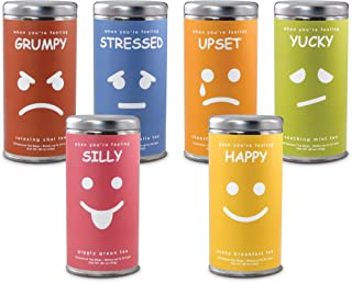 Teas for Your Mood Variety Pack: All-Natural, Gluten Free, 72 servings