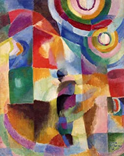 Sonia Delaunay-Terk Electric Prisms 1913 Private Collection 30