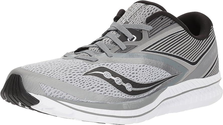 Saucony Men's Kinvara 9 Running chaussures, gris noir, 11 Medium US