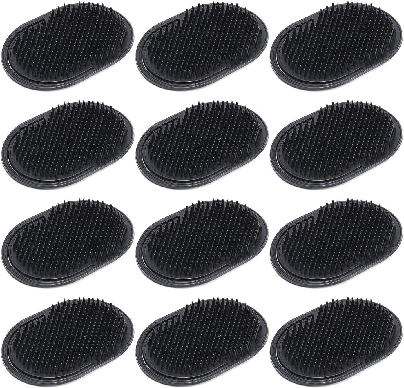 Pocket Mens Challenge the lowest price of Japan ☆ Short Hair unisex Brush Portable Comb Bea Black