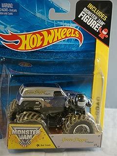 Hot Wheels Grave Digger The Legend Monster Jam Off Road Truck 1:64 Includes Monster Jam Figure