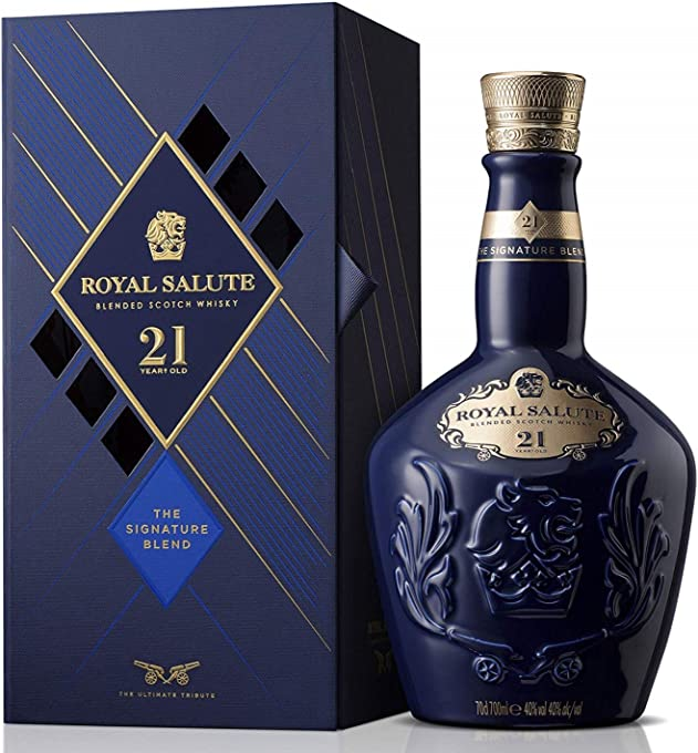 Royal Salute 21 Year Old Blended Sotch Whisky 700ml