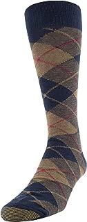 Gold Toe Men's Patterned Fashion Dress Crew Socks, 1 Pair