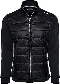HI-TEC Men's Phenita Tech Fleece Hybrid Full Zip Jacket