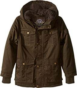 Cotton Twill Safari Jacket (Little Kids)