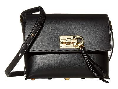 Salvatore Ferragamo The Studio Crossbody (Nero) Cross Body Handbags